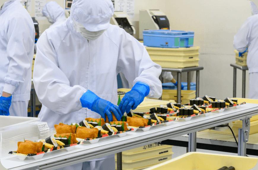 炊飯工場見学のリンク画像