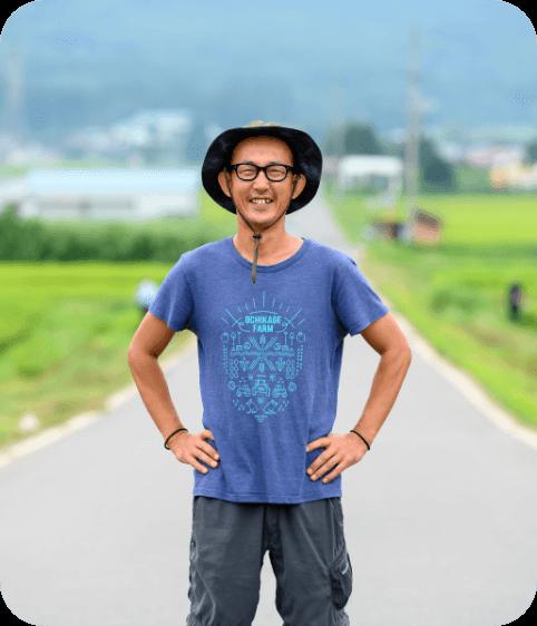 株式会社落影農業の代表取締役 斉藤寛紀さん
