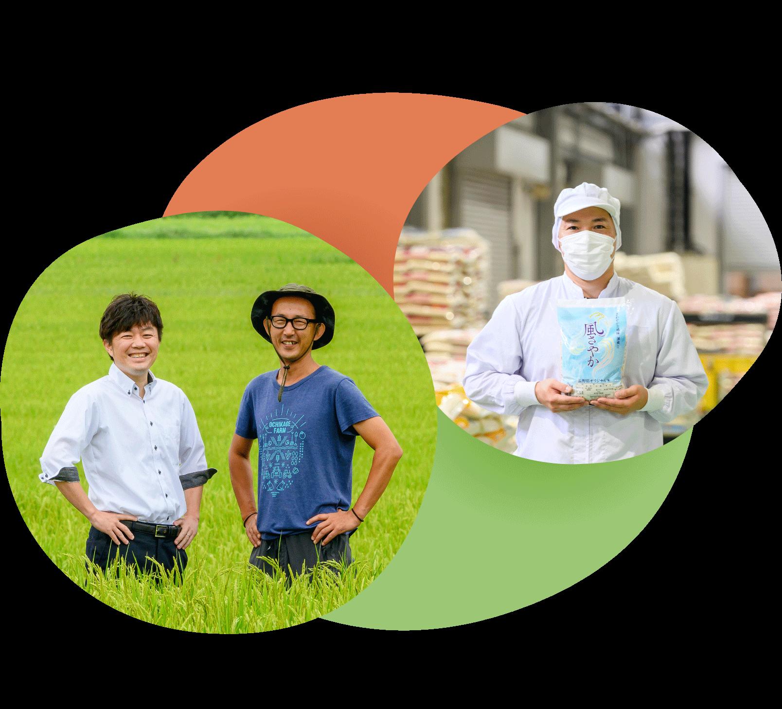 長野のおいしいお米を作り手から、あなたへ届ける精米工場担当者 長野米のベイクック